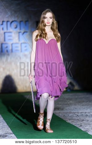 Fashion Week Zagreb : Secret Garden By Afrodita, Zagreb, Croatia.