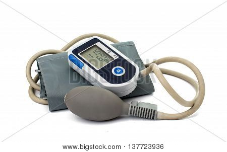 Medical tonometer health on a white background