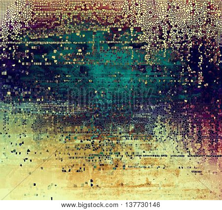 Colorful grunge background, tinted vintage style texture. With different color patterns: yellow (beige); brown; blue; cyan; purple (violet); pink