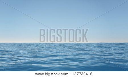 Ocean Clean Sky