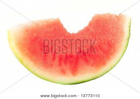 Organic Slice Of Watermelon