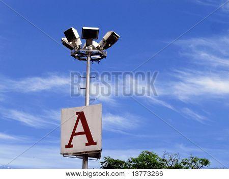 A Lamp post
