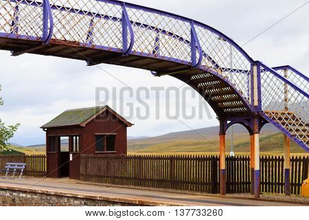 Scottish Railway Station