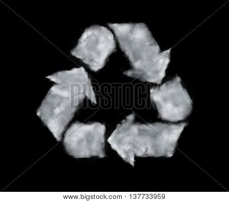 Cloud Recycle Icon