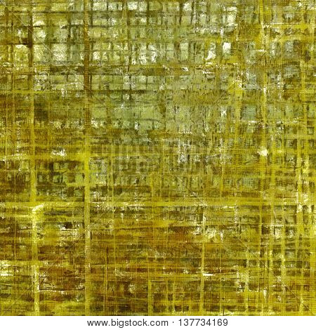 Grunge background for your design, aged shabby texture with different color patterns: yellow (beige); brown; green; gray