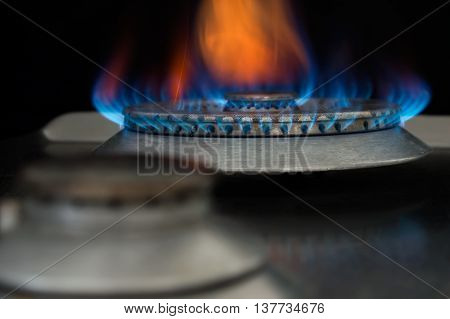 Conception of using a gas in household.