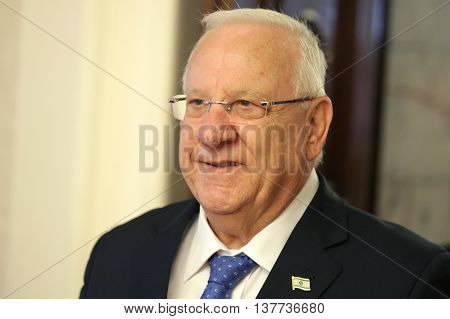 President Of The State Of Israel Reuven Rivlin