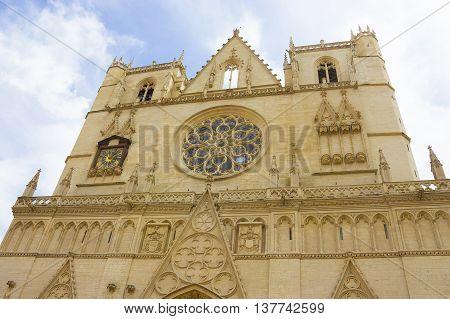 Notre Dame de Fourviers. Lyon - France - Europe