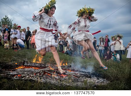 Traditional Slavic Celebrations Of Ivana Kupala