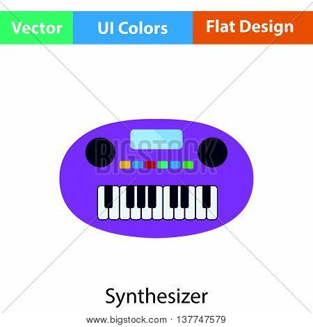 Synthesizer Toy Icon