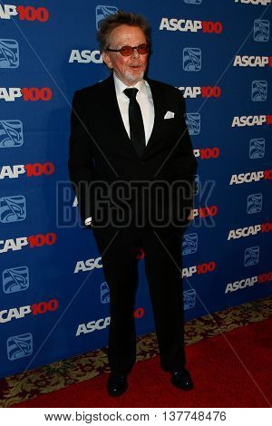 NEW YORK-NOV 17: Composer Paul Williams attends the ASCAP Centennial Awards at The Waldorf Astoria on November 17, 2014 in New York City.