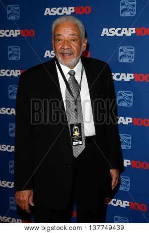 NEW YORK-NOV 17: Singer Bill Withers attends the ASCAP Centennial Awards at The Waldorf Astoria on November 17, 2014 in New York City.