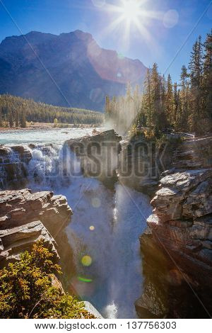 Athabasca Falls, Icefield Parkway, Jasper National Park