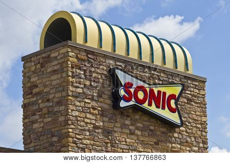 Lafayette IN - Circa July 2016: Sonic Drive-In Fast Food Location. Sonic is a Drive-In Restaurant Chain II