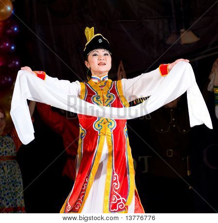Buryat (mongolian) Woman Dancer