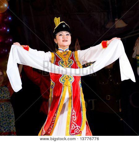 Buryat (mongolian) Woman Dancer