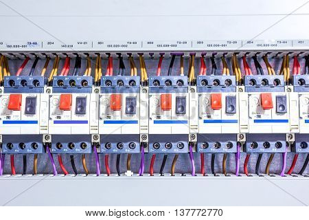 this electricity fuse box is an system for the whole house