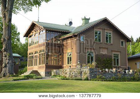 Rosenhill is a villa built in 1892 on South Djurgården in Stockholm - Sweden
