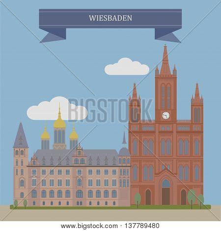 Wiesbaden, City In Germany