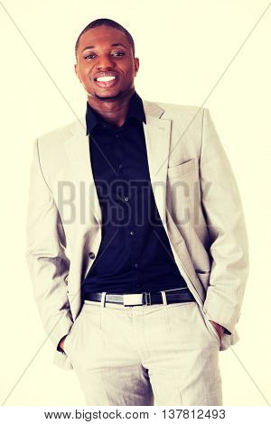 Handsome male business man