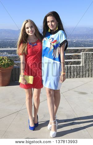 LOS ANGELES - JUL 7: Brady Reiter, Lilimar at the prettylittlething.com launch party at a private residence on July 7, 2016 in Los Angeles, California