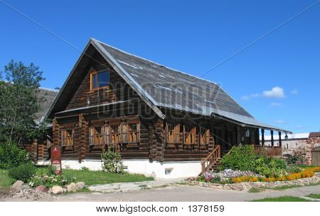 Wooden House.