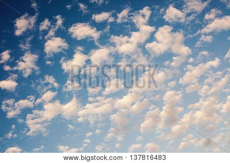 Abstract Of Clouds