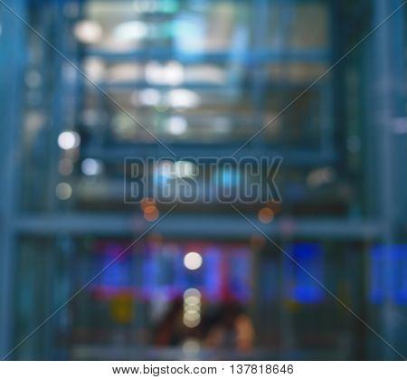 blur blue abstract digital industrial technology backgroud
