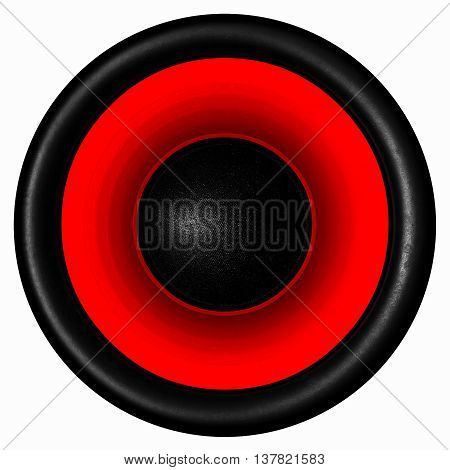 Red Audio Speaker