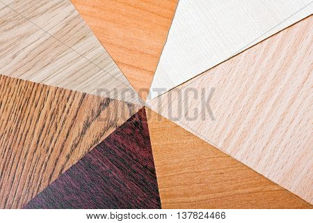 wood color and texture samples laminate carpentry