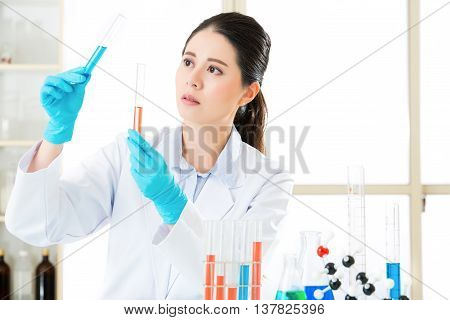 Asian Female Forensic Scientist Research And Development