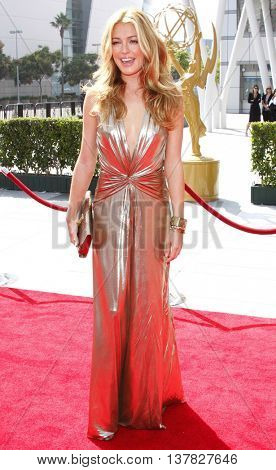 Cat Deeley at the 2008 EMMY Creative Arts Awards held at the Nokia Theater in Los Angeles, USA on September 13, 2009.