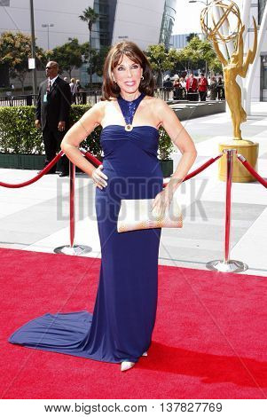 Kate Linder at the 2008 EMMY Creative Arts Awards held at the Nokia Theater in Los Angeles, USA on September 13, 2009.