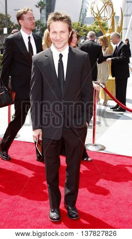 Breckin Meyer at the 2008 EMMY Creative Arts Awards held at the Nokia Theater in Los Angeles, USA on September 13, 2009.