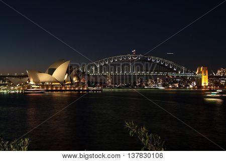 Sidney Opera Nightshot