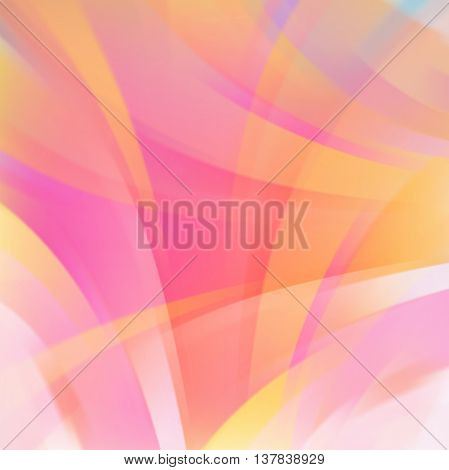 Abstract Pink Background With Smooth Lines. Color Waves, Pattern, Art, Technology Wallpaper, Technol