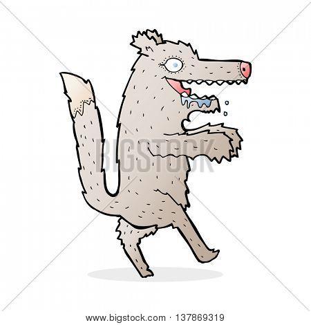 cartoon big bad wolf