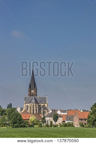 They abbey of village Thorn in Limburg Holland
