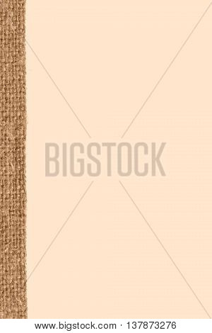 Textile tarpaulin fabric exterior buff canvas artists material old-fashioned background