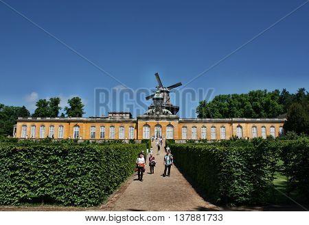 Palace Of Neue Kammern