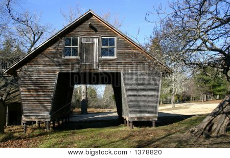 Colonial Farm Outbuilding - Rural New Jersey