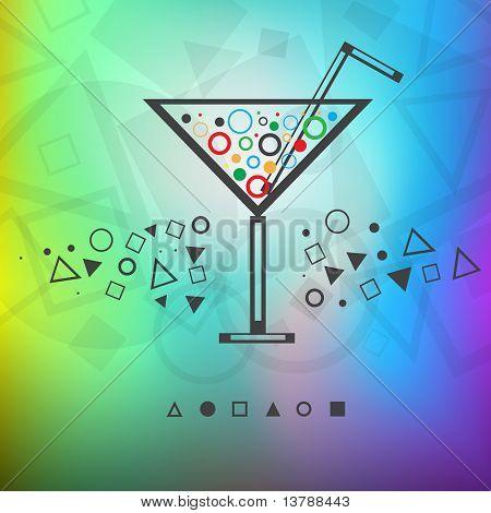 Modern Background Drink