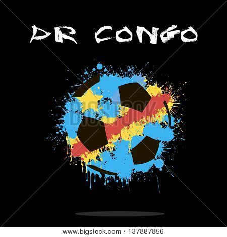 Abstract Soccer Ball