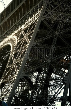 Eiffel Tower, Abstract View