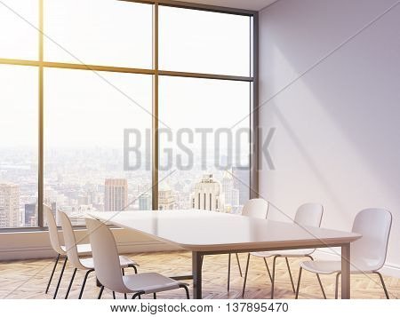 Table And Chairs In Interior