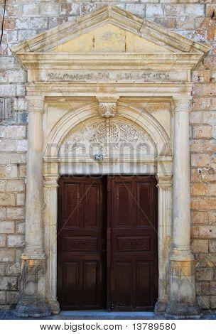 Crete Doorway
