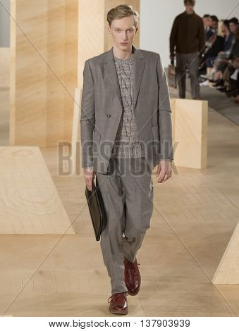 Perry Ellis - Men Fall 2016 Collection