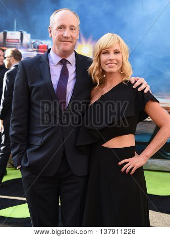 LOS ANGELES - JUL 9:  Matt Walsh & Morgan Walsh arrives to the