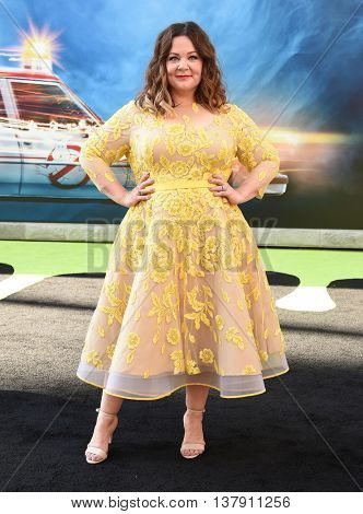 LOS ANGELES - JUL 9:  Melissa McCarthy arrives to the