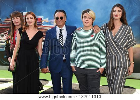 LOS ANGELES - JUL 9:  Andy Garcia arrives to the